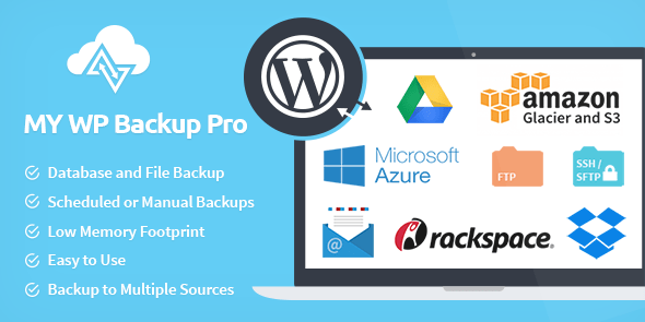 My WP Backup Pro wordpress backup plugin