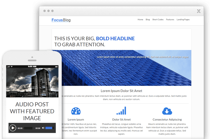 focusblog wordpress theme