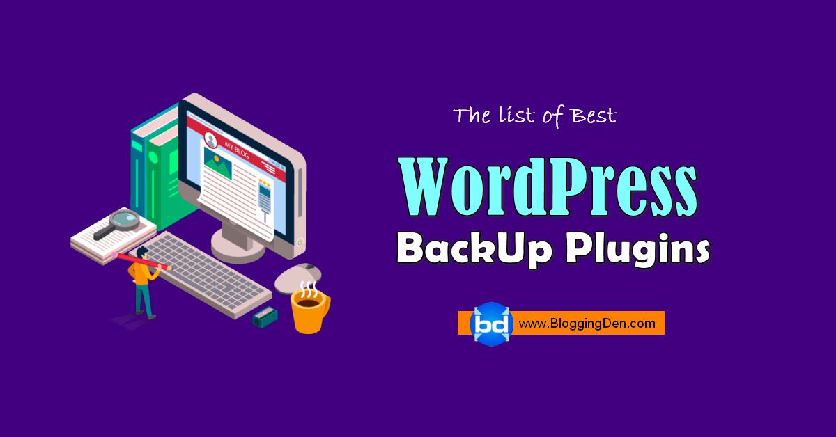 wordpress backup plugins list