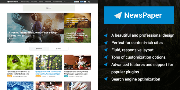 NewsPaper theme from Mythemeshop