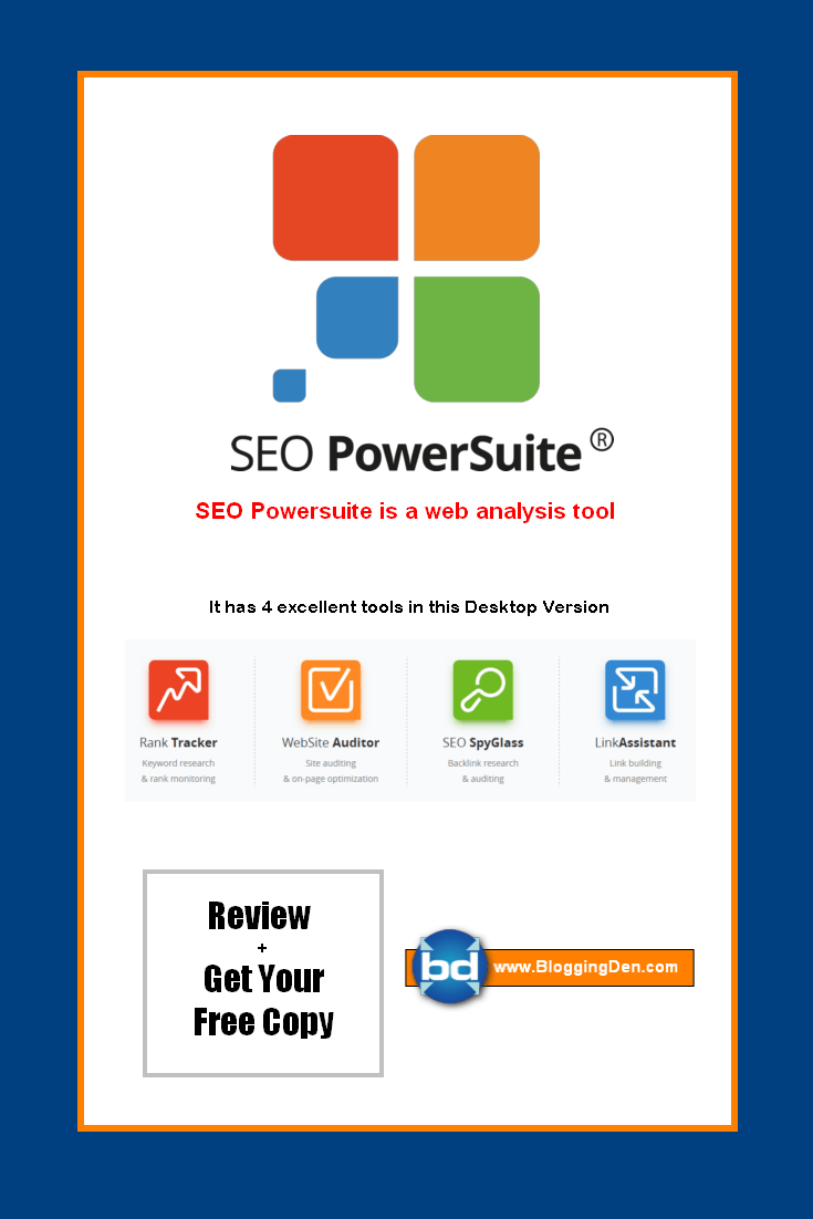 SEO Powersuite Review 2018 gives you the basic idea on how to improve blog ranking in search engines. must have tool. SEO tools are the most trending tools on the web. There are hundreds of SEO tools are available in the market to promote your site on a regular basis. After testing over 5 SEO tools, I found this tool.