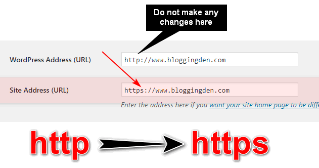 convert http to https