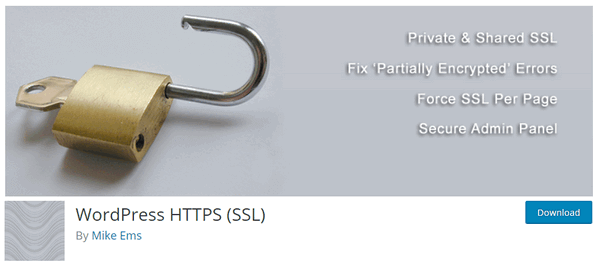 WordPress HTTPS (SSL) Plugin