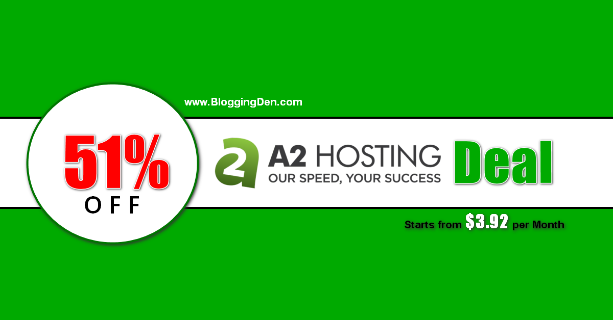 a2hosting deal coupon code
