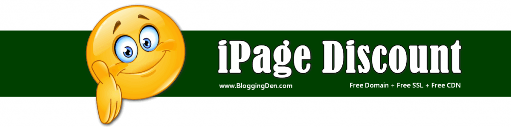 ipage coupon and discount