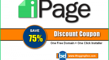 iPage Coupon Code to Grab 75% off + One Free Domain (Special)