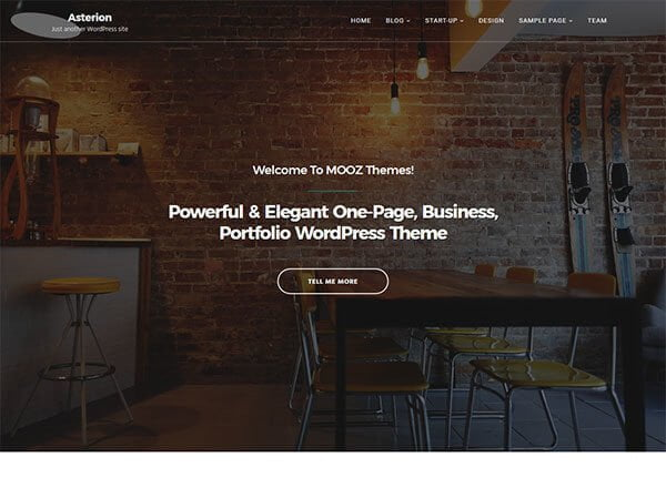 asterion wordpress theme