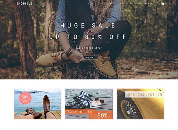 shop-isle wordpress theme