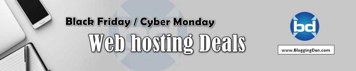 Best Black friday web hosting deals 2019