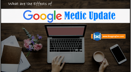 What are the Effects of Google Medic update on blogs and websites?