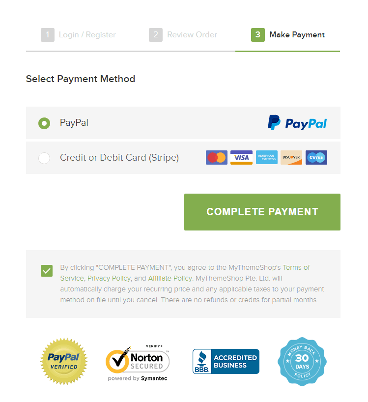 mythemeshop payment page final