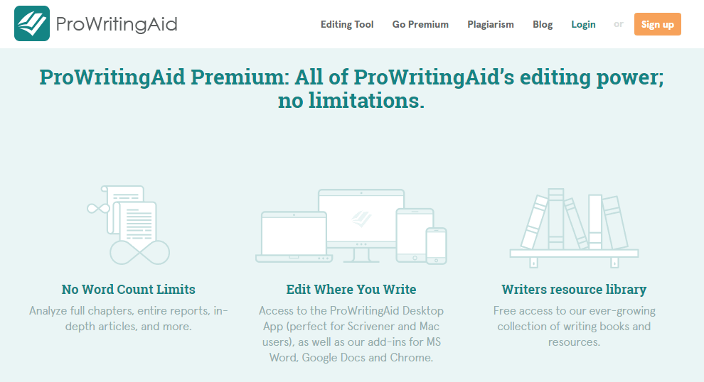 ProWritingAid Black Friday Deal 2020 Homepage