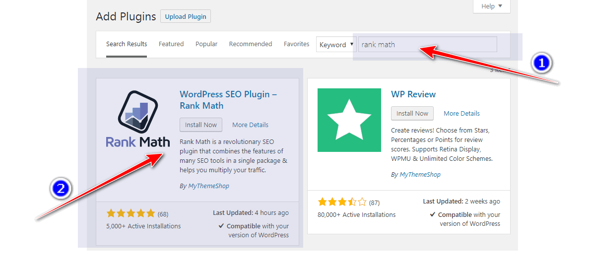 install plugin from wordpress