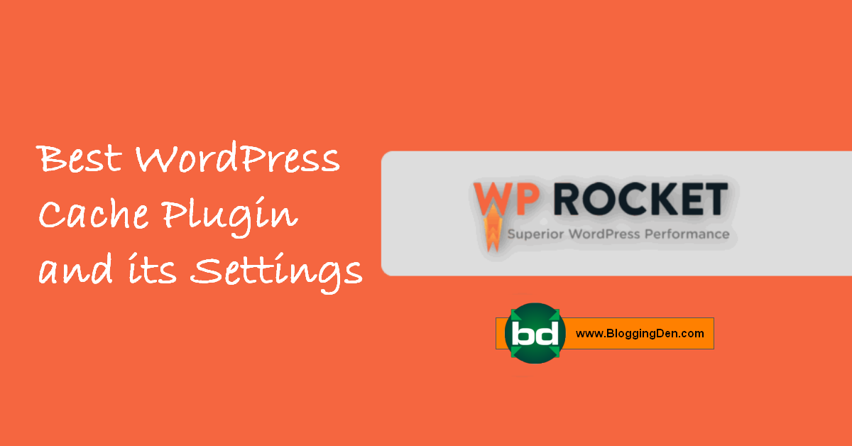 wp rocket review and its settings