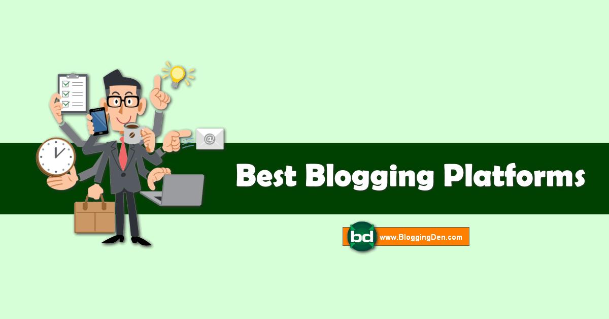 best blogging platforms