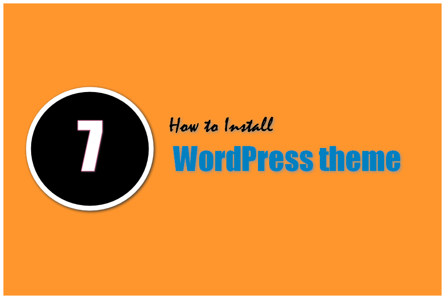 How to Install theme in Your New WordPress Blog?