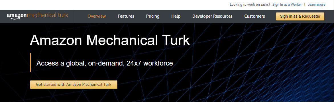 amazon mechanical turk works