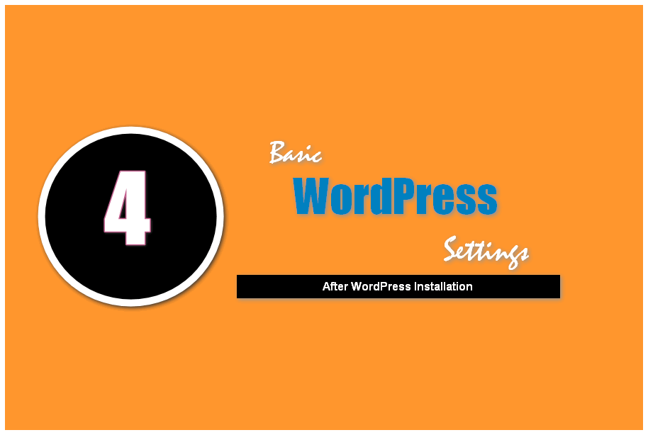 basic wordpress settings new