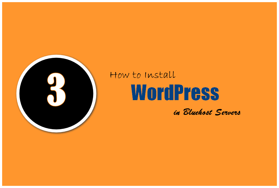 how to install wordpress in bluehost servers big