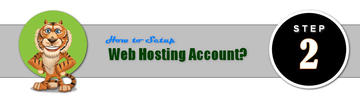 How to setup web hosting?