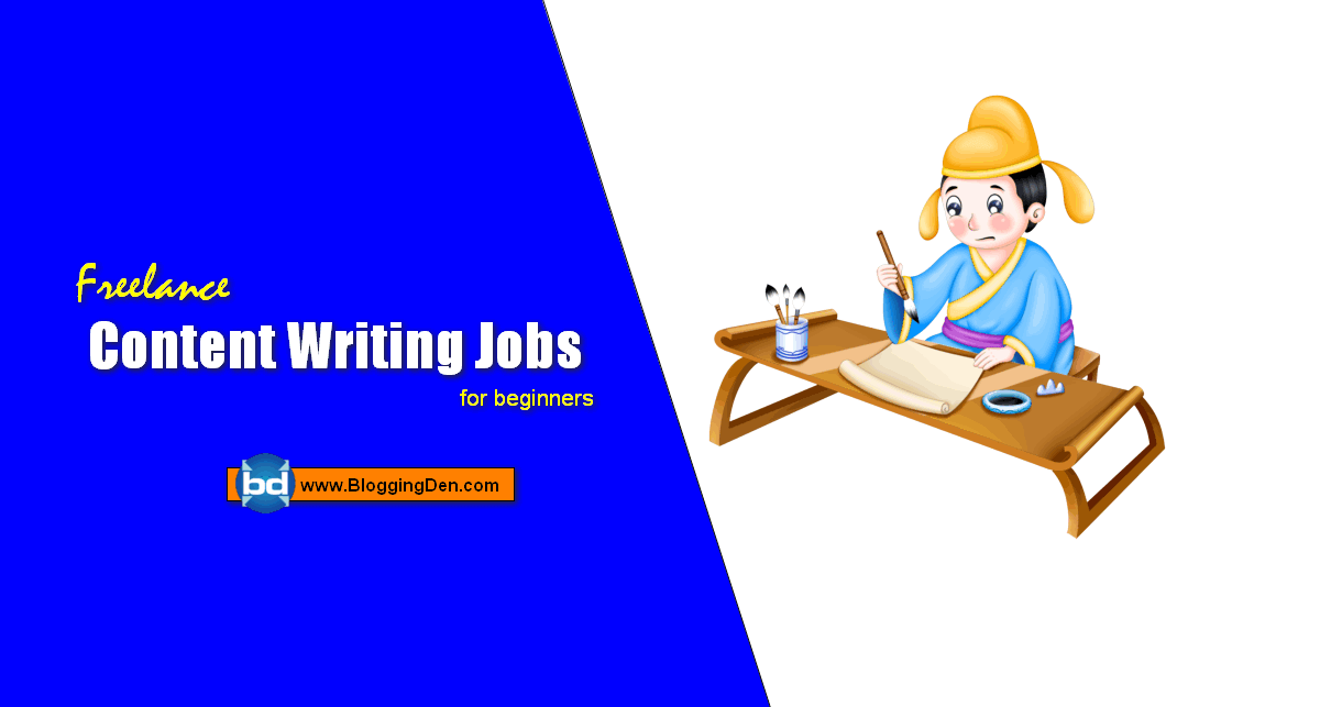 Best Freelance Content Writing Jobs from Home for beginners
