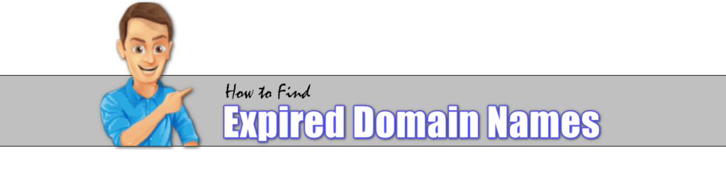 how to find and buy expired domain names
