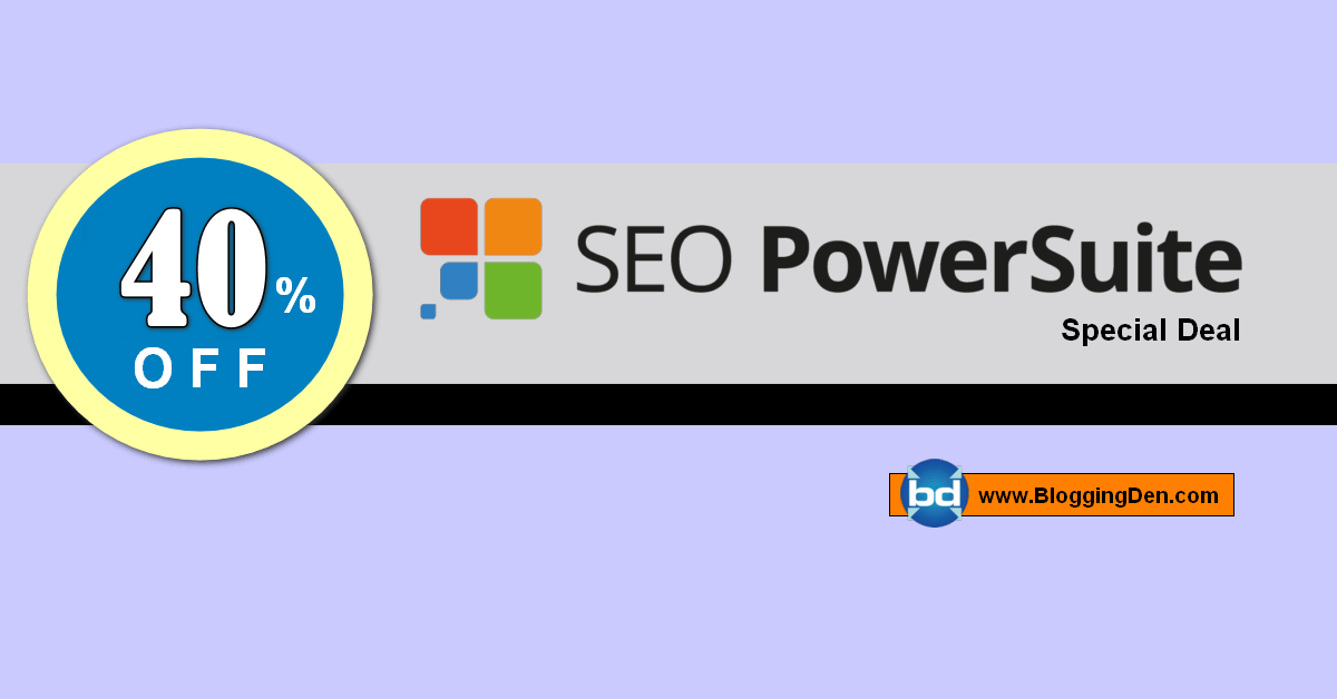 SEO powersuite deal 2020