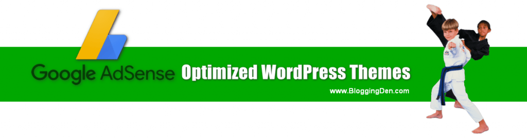 google adsense optimized wordpress themes