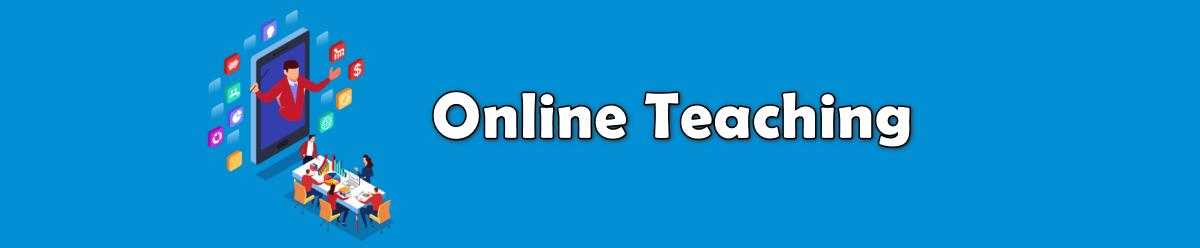 online teaching way