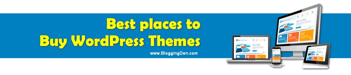 Best and Popular Premium WordPress Themes Providers