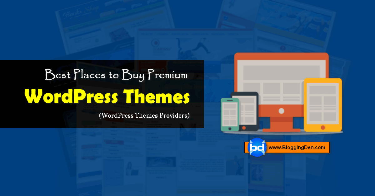 best places to buy premium wordpress themes