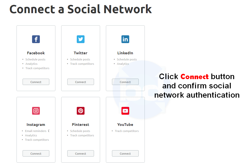 connect a social network