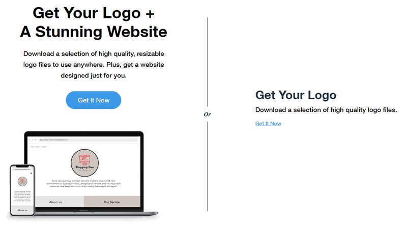 get your logo now