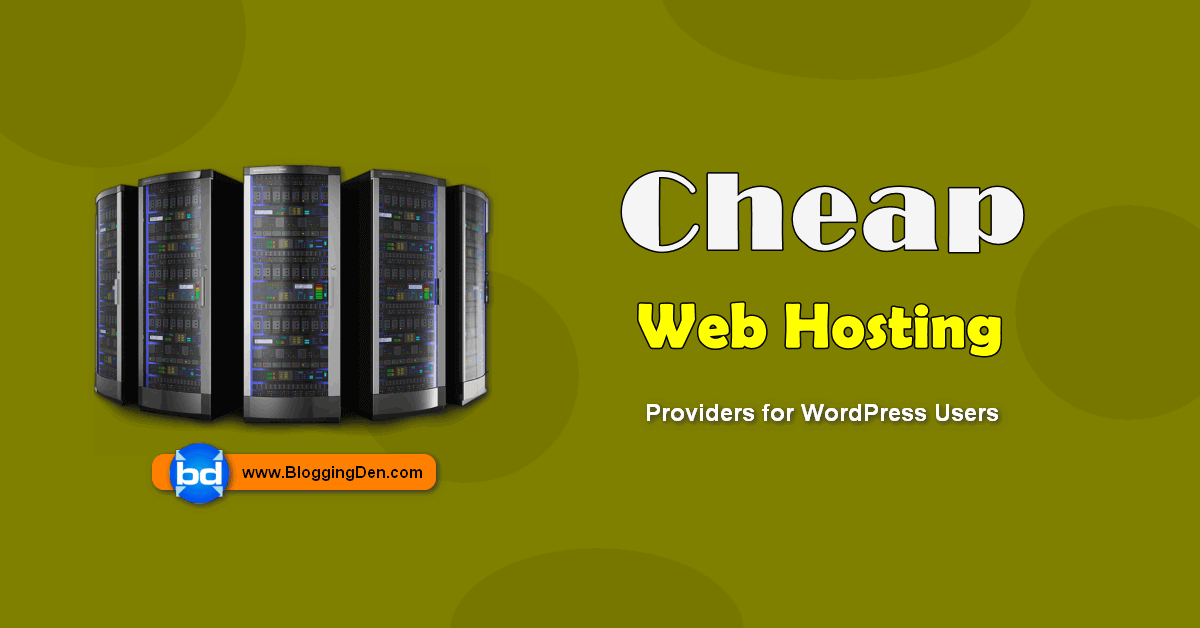 list of cheap web hosting providers