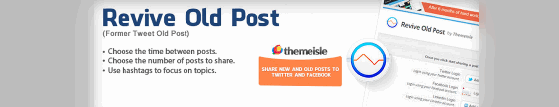 revive old posts plugin