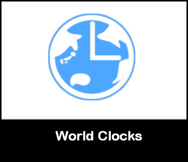 World clocks extensions