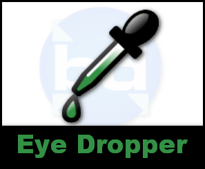 eye dropper extension