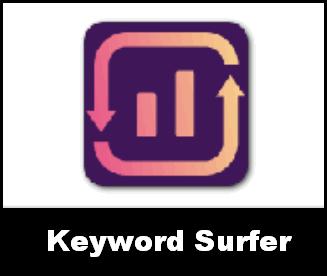 keyword surfer chrome addon