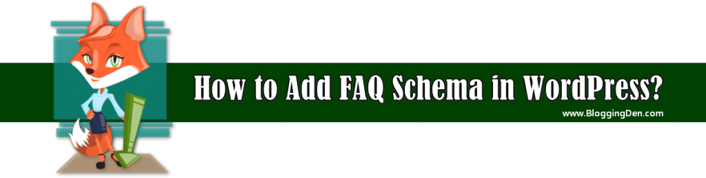 how to add FAQ schema in wordpress