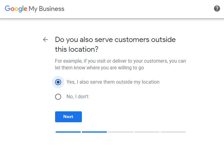 serve customers outside of your location