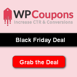 WPCoupons black friday