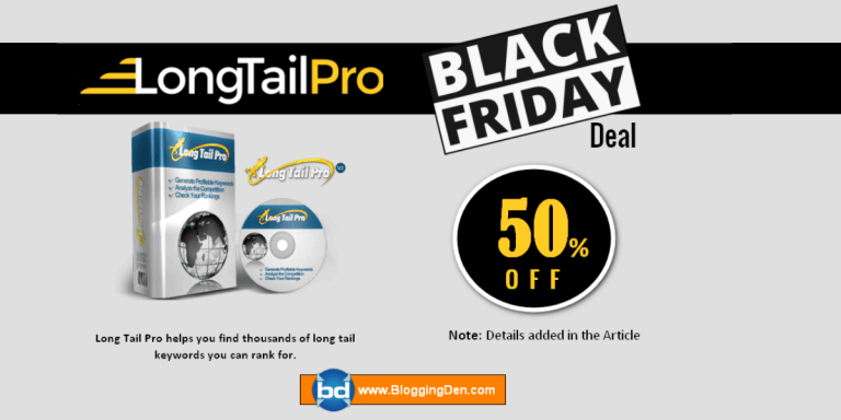 long tail pro black friday deals