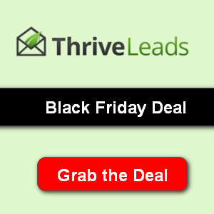 thrive leads black friday