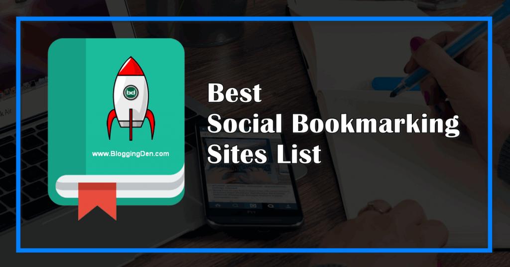 best social bookmarking sites list