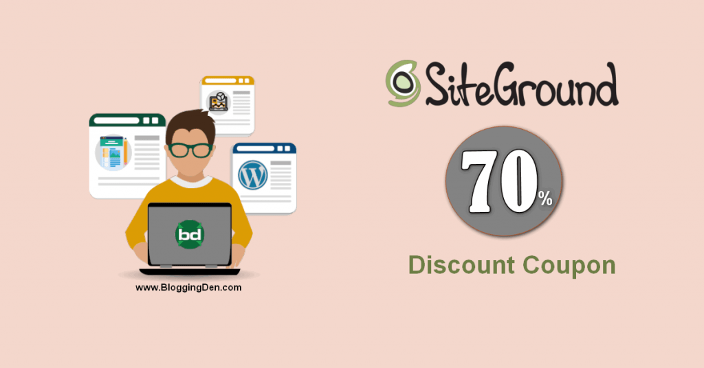 siteground coupon code for a great discount