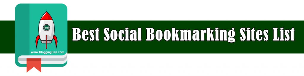top and best social bookmarking sites list 2020