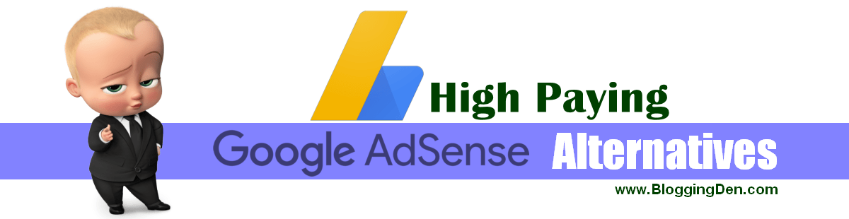 best Google adsense alternatives 2020