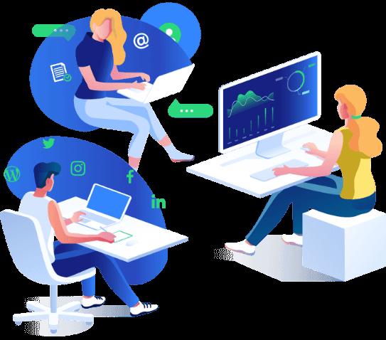 content studio team