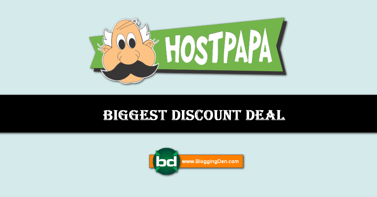 hostpapa deals and discount