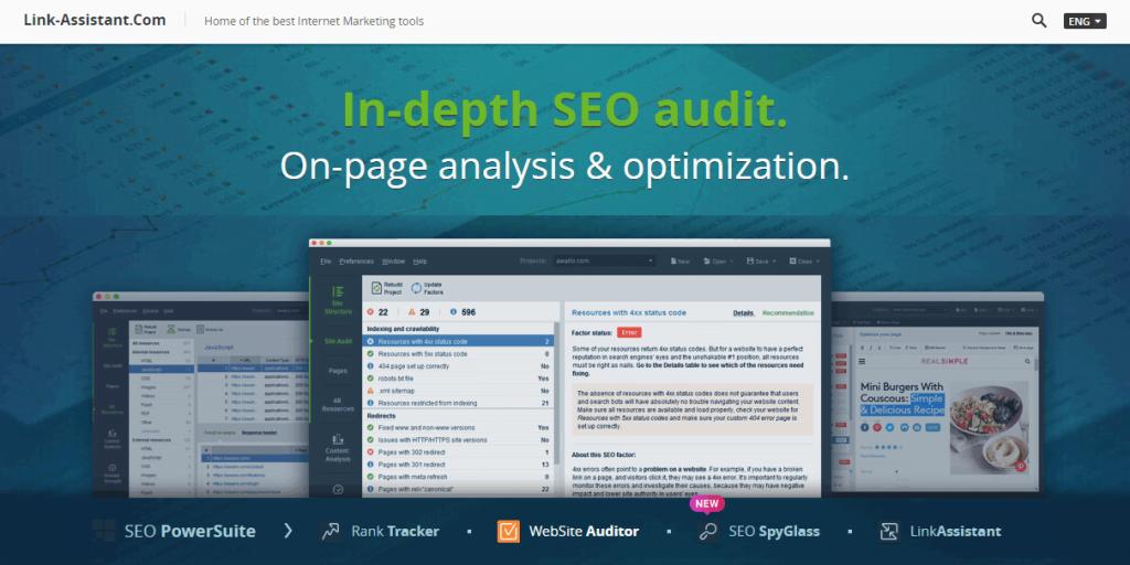 website auditor tool